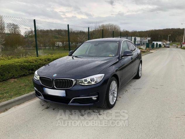 BMW Série 3 SERIE 3 GT F34 320D 184 LUXURY BVA8 Bleu foncé Occasion - 6