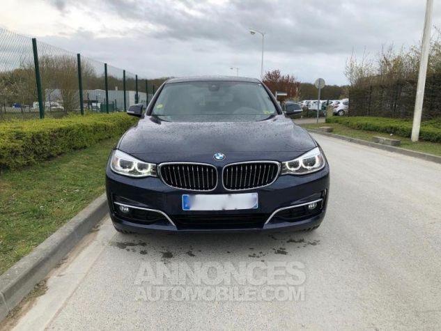 BMW Série 3 SERIE 3 GT F34 320D 184 LUXURY BVA8 Bleu foncé Occasion - 7