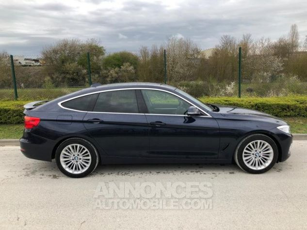 BMW Série 3 SERIE 3 GT F34 320D 184 LUXURY BVA8 Bleu foncé Occasion - 8