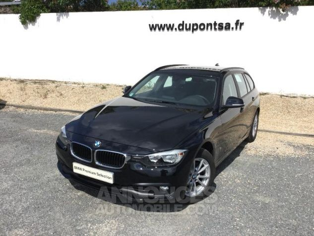 BMW Série 3 Touring 316d 116ch Lounge NOIR Occasion - 0
