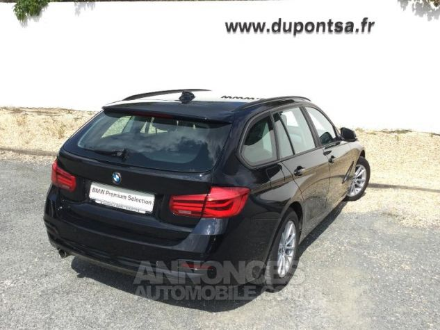 BMW Série 3 Touring 316d 116ch Lounge NOIR Occasion - 1
