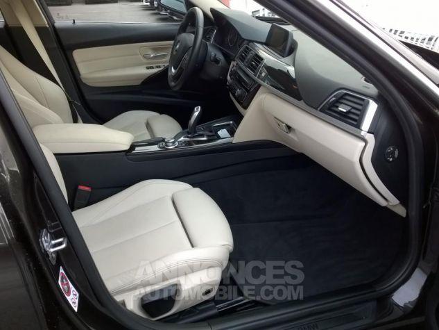 BMW Série 3 Touring 318D 150 CH Techno Design A Marron Occasion - 5