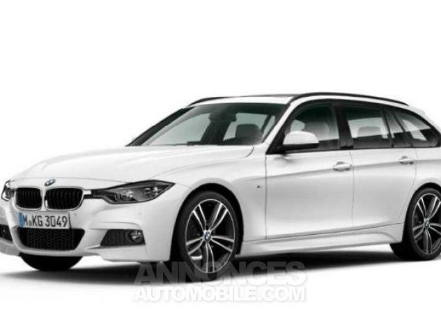 BMW Série 3 Touring 318dA 150ch M Sport Alpinweiss uni Occasion - 0
