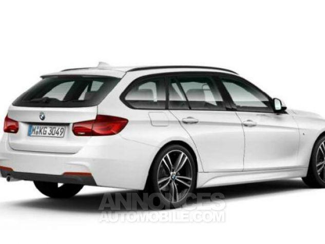 BMW Série 3 Touring 318dA 150ch M Sport Alpinweiss uni Occasion - 1