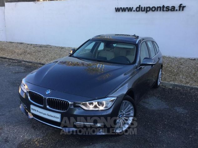 BMW Série 3 Touring 320dA 184ch Luxury GRIS Occasion - 0