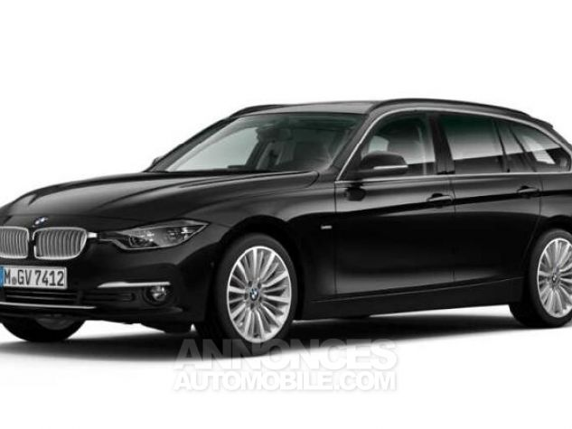 BMW Série 3 Touring 320dA xDrive 190ch Luxury Saphirschwarz metallise Occasion - 0