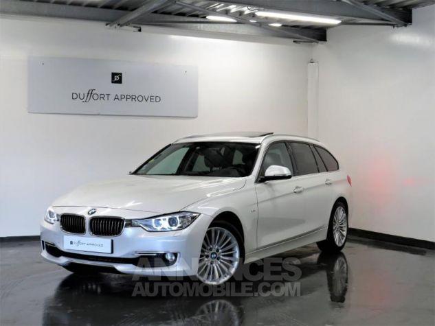BMW Série 3 Touring 330dA xDrive 258ch Luxury Blanc Occasion - 0