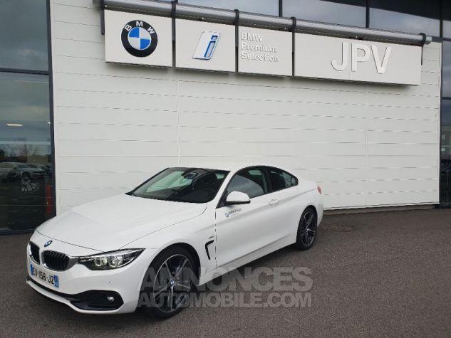 BMW Série 4 418dA 150ch Sport Alpinweiss uni Occasion - 0