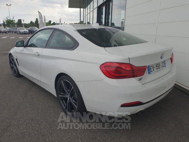 BMW Série 4 418dA 150ch Sport Alpinweiss uni Occasion - 1