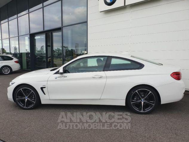 BMW Série 4 418dA 150ch Sport Alpinweiss uni Occasion - 3