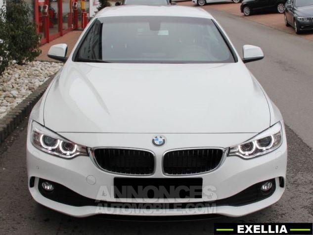BMW Série 4 420 DA CABRIOLET  BLANC  Occasion - 1