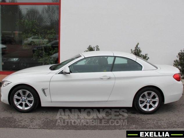 BMW Série 4 420 DA CABRIOLET  BLANC  Occasion - 2