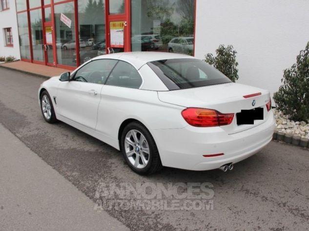 BMW Série 4 420 DA CABRIOLET  BLANC  Occasion - 3