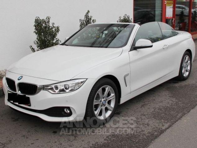 BMW Série 4 420 DA CABRIOLET  BLANC  Occasion - 5