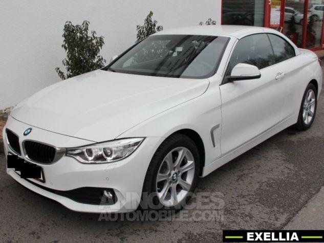 BMW Série 4 420 DA CABRIOLET  BLANC  Occasion - 7