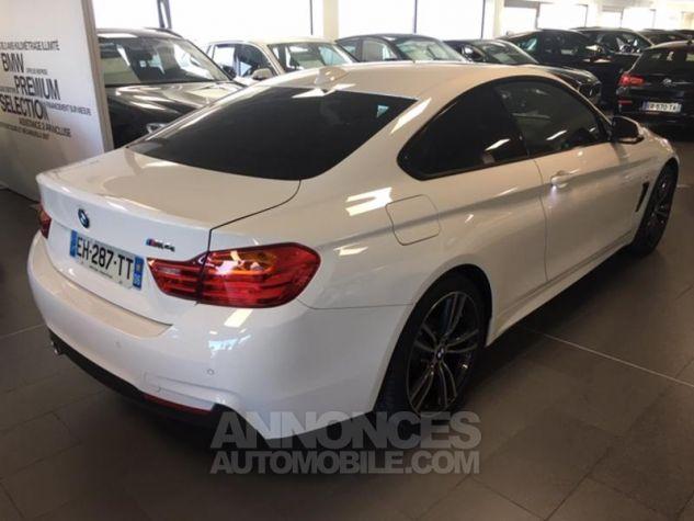 BMW Série 4 420d xDrive 190ch M Sport Alpinweiss uni Occasion - 2