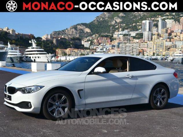 BMW Série 4 420dA 184ch Modern BLANCHE Occasion - 0