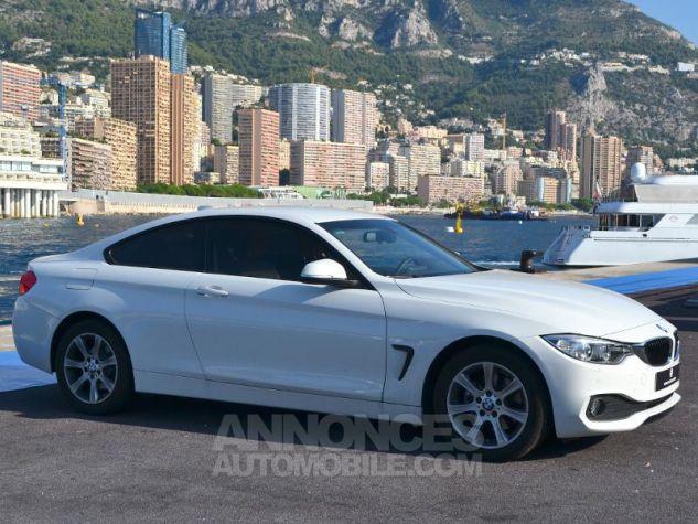 BMW Série 4 420dA 184ch Modern BLANCHE Occasion - 2