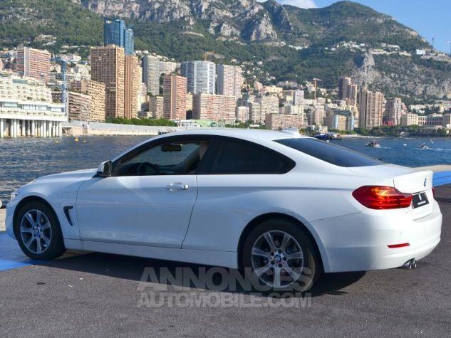 BMW Série 4 420dA 184ch Modern BLANCHE Occasion - 8