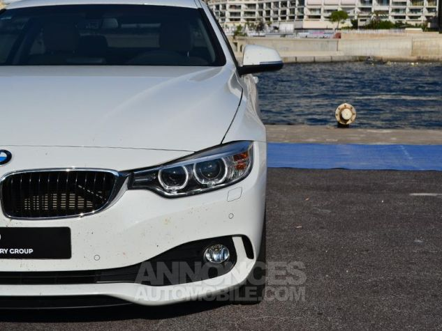 BMW Série 4 420dA 184ch Modern BLANCHE Occasion - 18