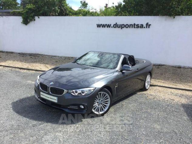 BMW Série 4 420dA 190ch Luxury Mineralgrau metallise Occasion - 0