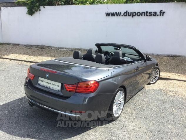 BMW Série 4 420dA 190ch Luxury Mineralgrau metallise Occasion - 1