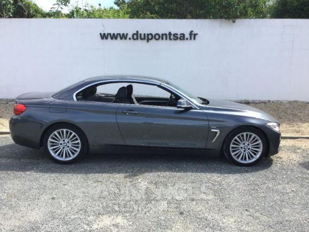 BMW Série 4 420dA 190ch Luxury Mineralgrau metallise Occasion - 9