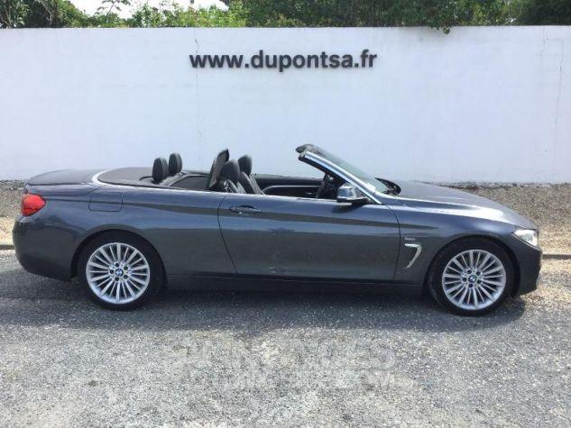 BMW Série 4 420dA 190ch Luxury Mineralgrau metallise Occasion - 10