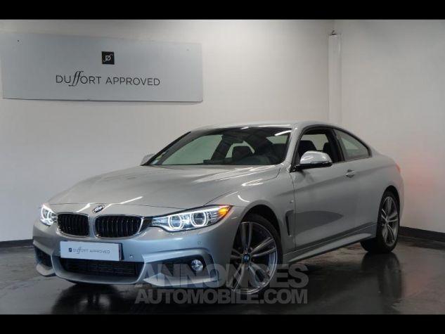 BMW Série 4 420dA xDrive 184ch M Sport Gris Occasion - 0
