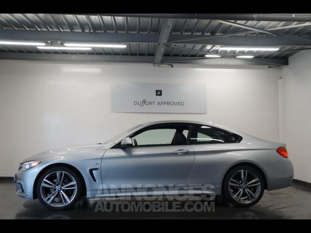 BMW Série 4 420dA xDrive 184ch M Sport Gris Occasion - 1