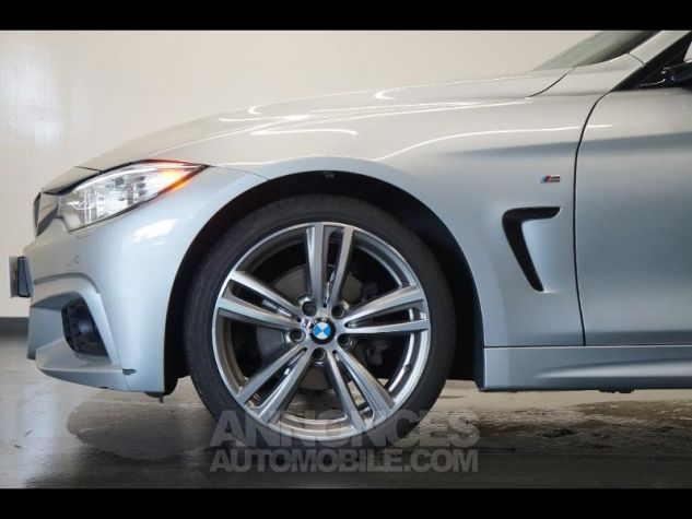 BMW Série 4 420dA xDrive 184ch M Sport Gris Occasion - 3