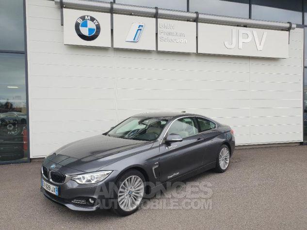 BMW Série 4 420dA xDrive 190ch Luxury Mineralgrau metallise Occasion - 0