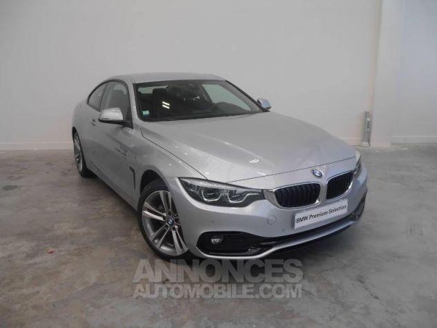 BMW Série 4 420dA xDrive 190ch Sport Glaciersilber Neuf - 0