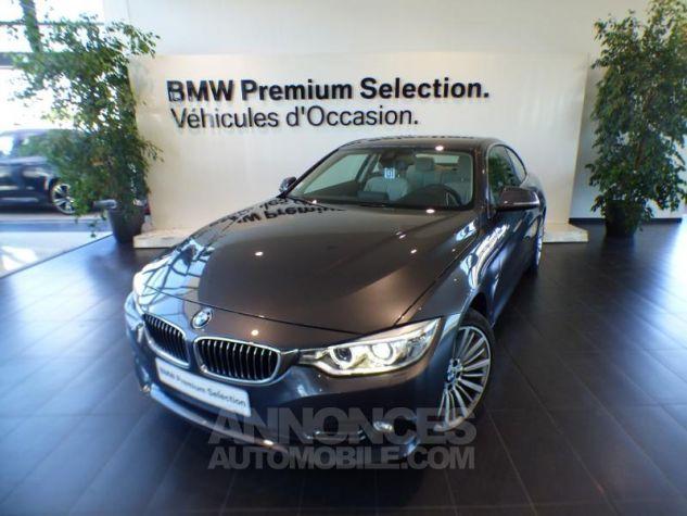 BMW Série 4 420iA 184ch Luxury GRIS Occasion - 0
