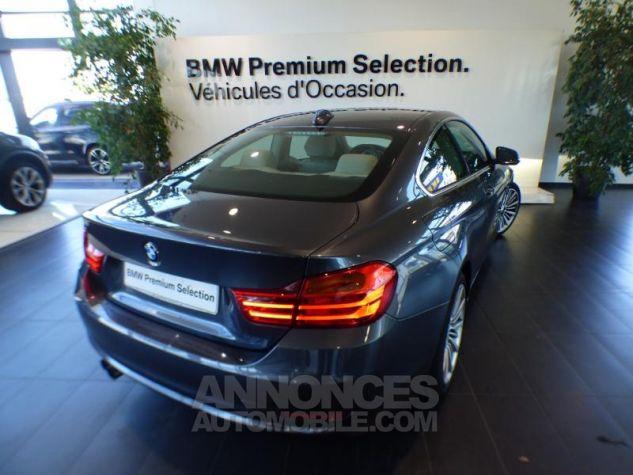 BMW Série 4 420iA 184ch Luxury GRIS Occasion - 1