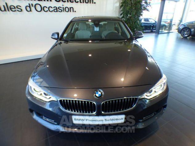 BMW Série 4 420iA 184ch Luxury GRIS Occasion - 4