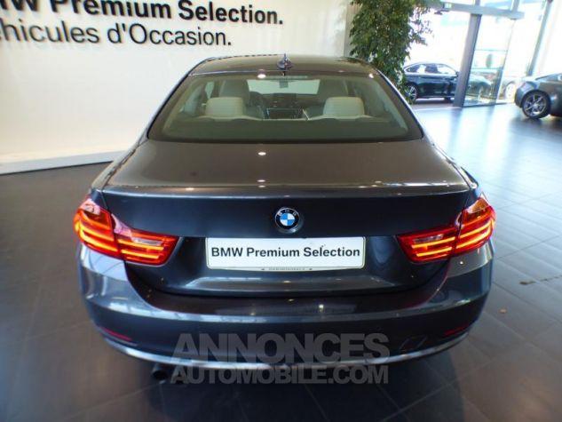 BMW Série 4 420iA 184ch Luxury GRIS Occasion - 5