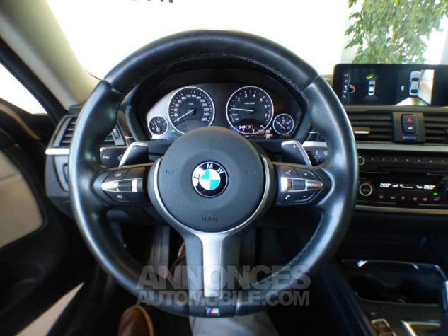 BMW Série 4 420iA 184ch Luxury GRIS Occasion - 9
