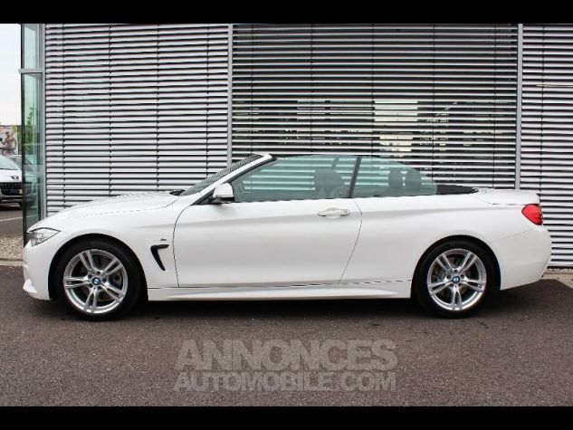 BMW Série 4 430dA 258ch M Sport Alpinweiss Occasion - 1