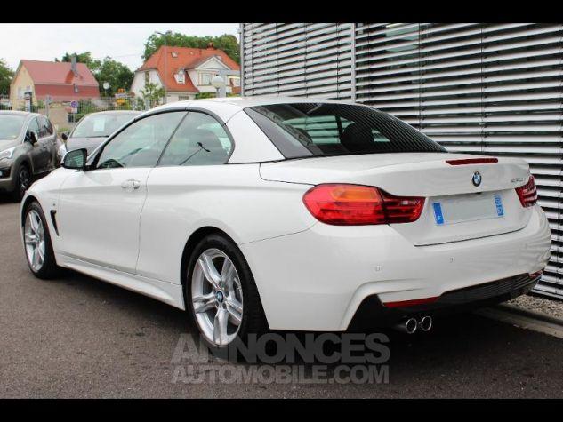 BMW Série 4 430dA 258ch M Sport Alpinweiss Occasion - 4