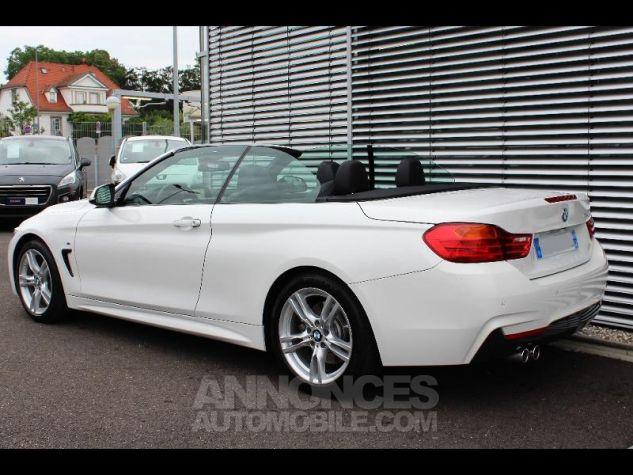 BMW Série 4 430dA 258ch M Sport Alpinweiss Occasion - 5