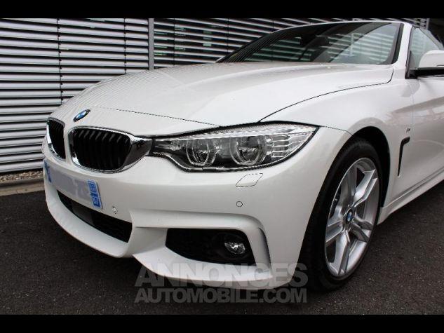 BMW Série 4 430dA 258ch M Sport Alpinweiss Occasion - 7
