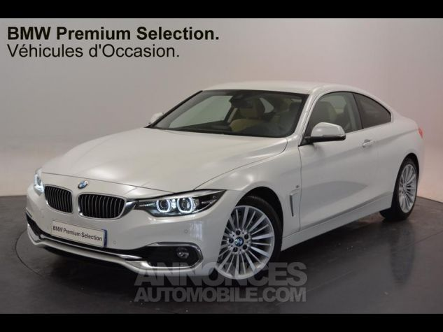 BMW Série 4 430iA 252ch Luxury Euro6d-T Noir Occasion - 0