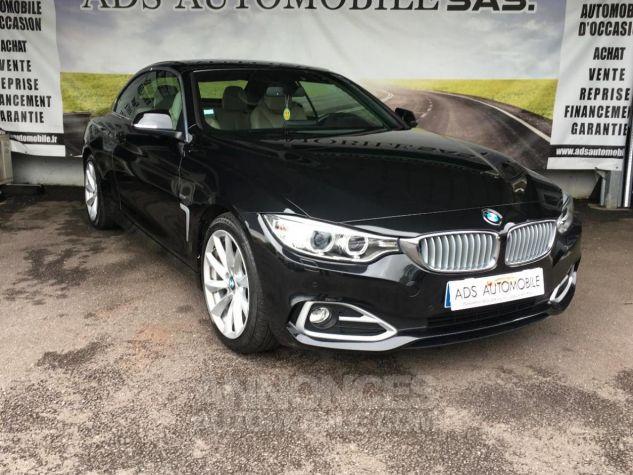 BMW Série 4 CAB 420D 184 CH Modern Noir Occasion - 0