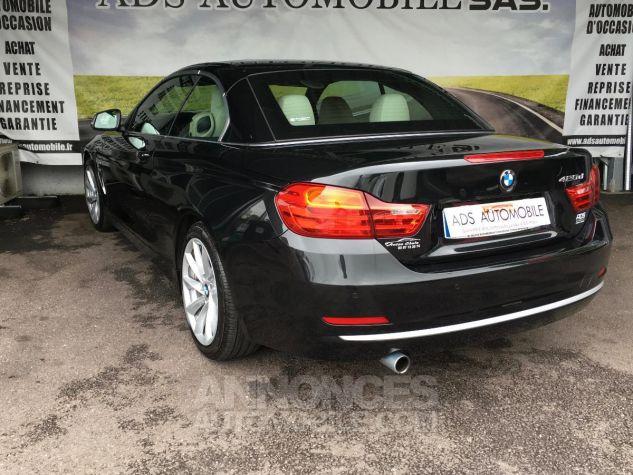 BMW Série 4 CAB 420D 184 CH Modern Noir Occasion - 3