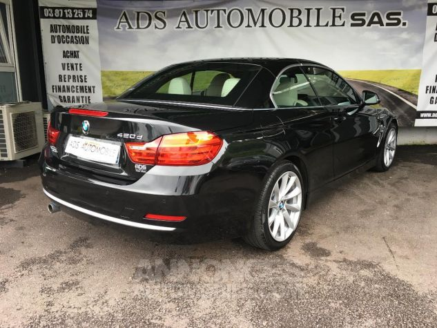 BMW Série 4 CAB 420D 184 CH Modern Noir Occasion - 4