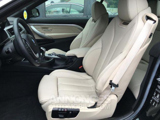 BMW Série 4 CAB 420D 184 CH Modern Noir Occasion - 8