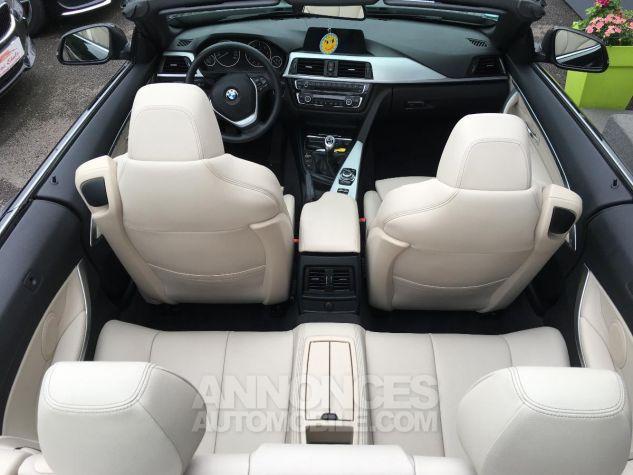 BMW Série 4 CAB 420D 184 CH Modern Noir Occasion - 10