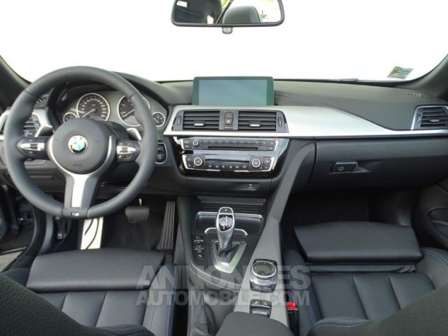 BMW Série 4 Cabriolet 430dA 258ch M Sport Mineralgrau  metallise Occasion - 8