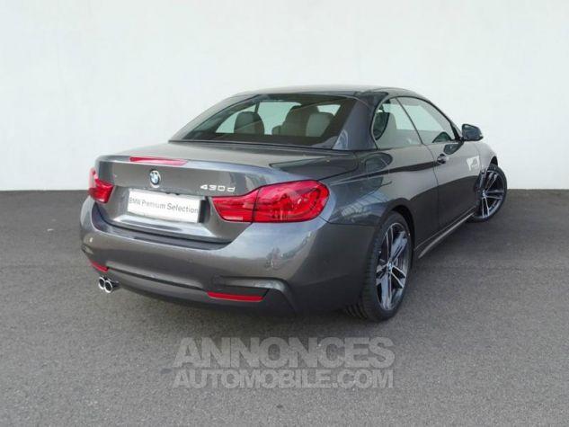 BMW Série 4 Cabriolet 430dA 258ch M Sport Mineralgrau  metallise Occasion - 11
